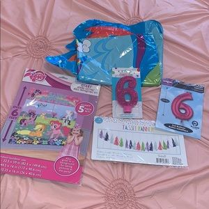 New My little pony party supplies